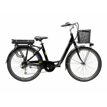 ADRIATICA E2 e-bike női fekete