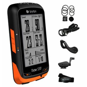 Computer BRYTON RIDER 530T GPS szett (+HRM + COMBO sensor)