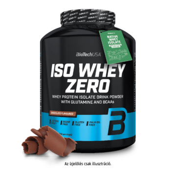 Iso Whey Zero prémium fehérje - 2270 g eper