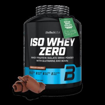 Iso Whey Zero prémium fehérje - 2270 g csokoládé-tofee