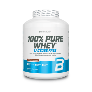 100% Pure Whey Laktózmentes - 2270 g eper