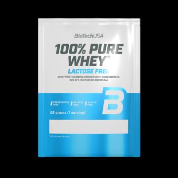 100% Pure Whey Laktózmentes - 28 g eper 10 db/csomag