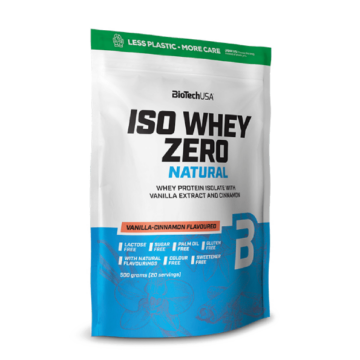 Iso Whey Zero Natural italpor - 500 g vanília fahéj