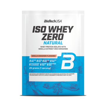 Iso Whey Zero Natural italpor - 25 g vanília fahéj 10 db/csomag