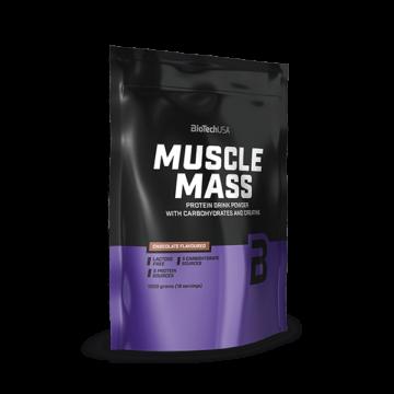Muscle Mass szénhidrát- és fehérjetartalmú italpor - 1000 g eper