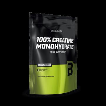 100% Micronized Creatine Monohydrate - 500 g zacskós