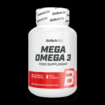 Mega  Omega 3 - 90 lágykapszula