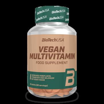 Vegan Multivitamin tabletta – 60 db tabletta
