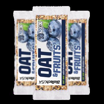 OAT & FRUITS - 70 g joghurtos körte-málna 10 db/ csomag