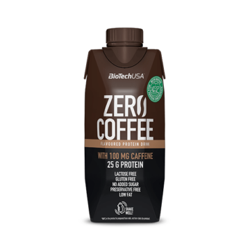 Zero Coffee fehérjeital 330 ml caffé latte 15 db/karton