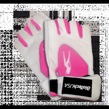 Lady 1 női pink-fehér kesztyű XL