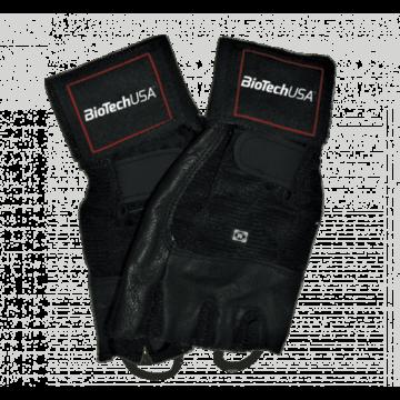 Houston - Csuklószorítós fekete kesztyű XL