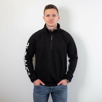 Payper Miami+ félig cipzáras pulóver - férfi fekete L