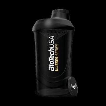 ULISSES Wave Shaker  fekete-füst  - 600 ml
