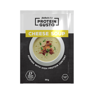 Protein Gusto - Cheese soup - 30 g 10 db/doboz