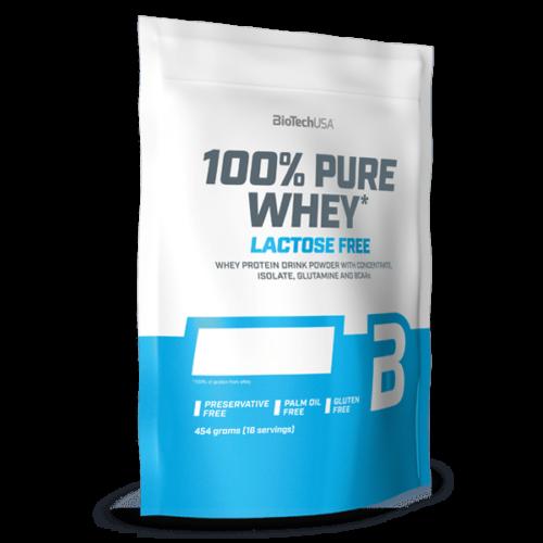 100% Pure Whey Laktózmentes - 454 g eper