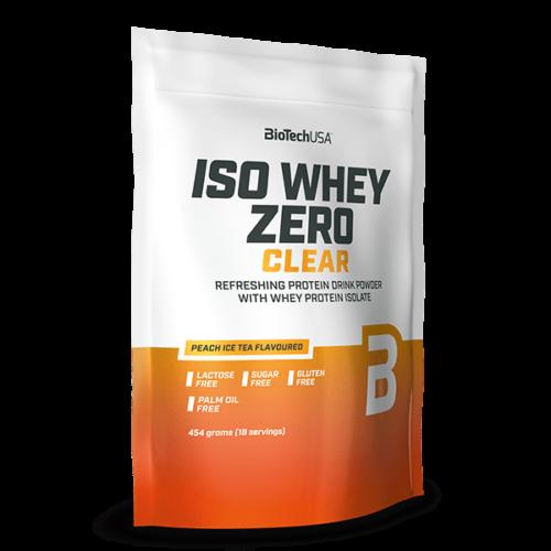 Iso Whey Zero Clear - 454 g barackos ice tea