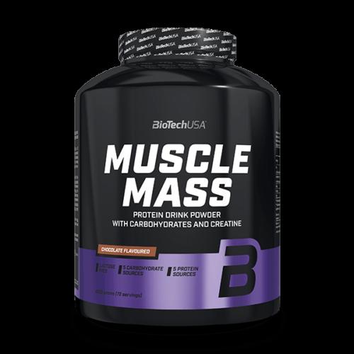 Muscle Mass szénhidrát- és fehérjetartalmú italpor - 4000 g csokoládé