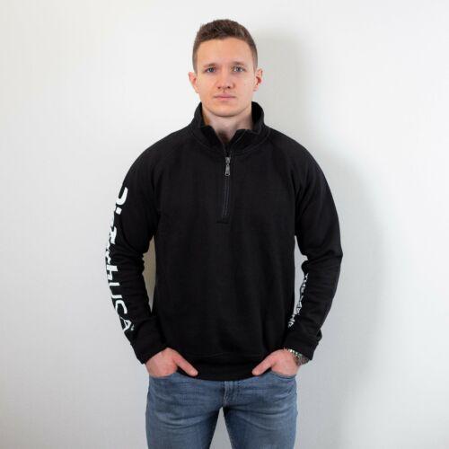 Payper Miami+ félig cipzáras pulóver - férfi fekete XL