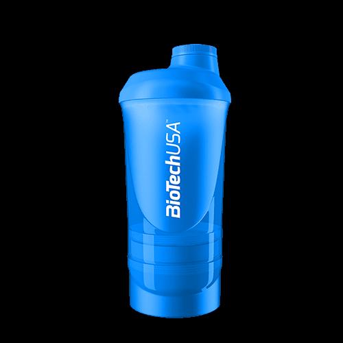 BioTechUSA Wave+ Shaker 600ml(+200ml+150ml) magenta