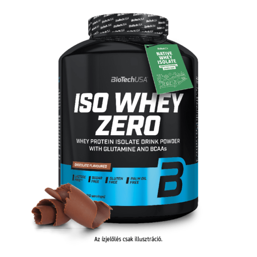 Iso Whey Zero prémium fehérje - 2270 g pisztácia
