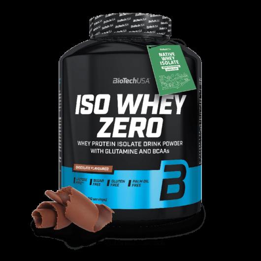 Iso Whey Zero prémium fehérje - 2270 g málna