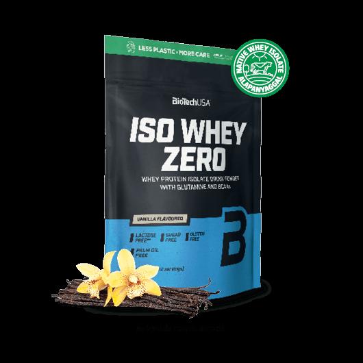Iso Whey Zero prémium fehérje papírzsákban - 1816 g csokoládé