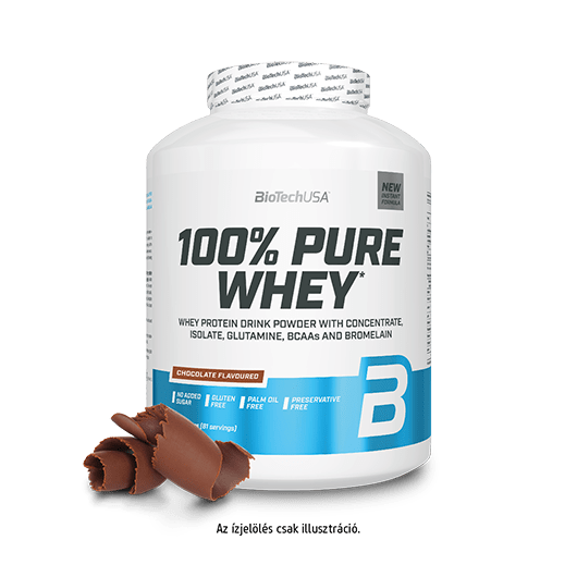 100% Pure Whey - 2270 g karamell-cappuccino