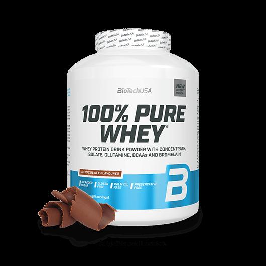 100% Pure Whey - 2270 g csokoládé-mogyoróvaj