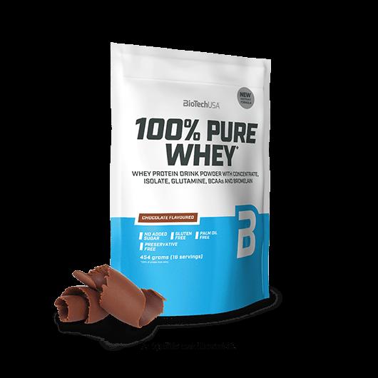 100% Pure Whey - 454 g málnás sajttorta