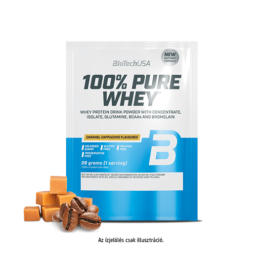 100% Pure Whey - 28 g meggyes joghurt 10 db/csomag