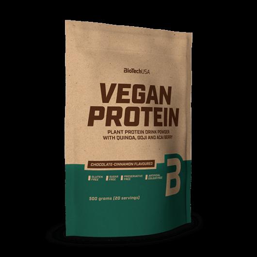 Vegan Protein, fehérje vegánoknak - 500 g vaníliás sütemény