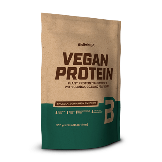 Vegan Protein, fehérje vegánoknak - 500 g mogyoró