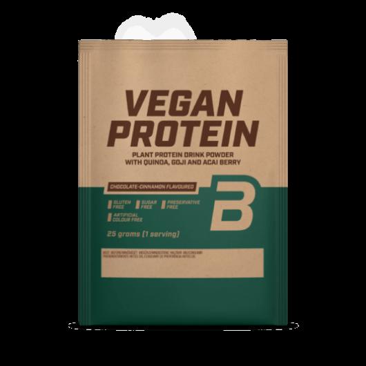 Vegan Protein, fehérje vegánoknak - 25 g csokoládé-fahéj