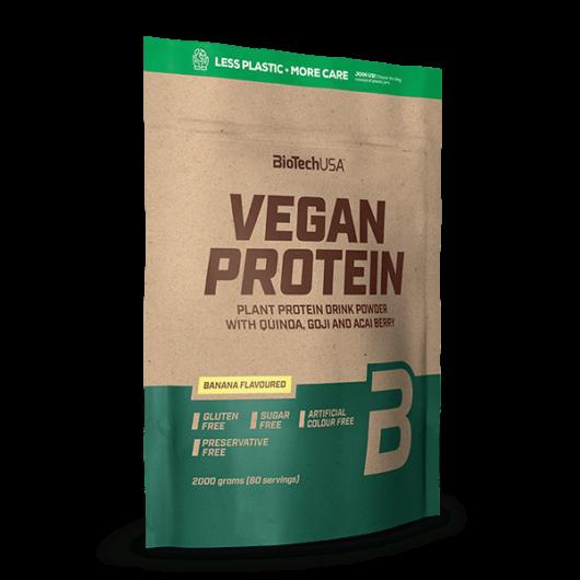 Vegan Protein, fehérje vegánoknak - 2000 g vaníliás sütemény