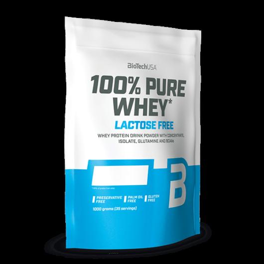 100% Pure Whey Laktózmentes - 1000 g eper