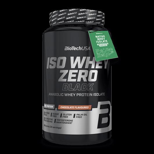 Iso Whey Zero Black tejsavófehérje-izolátum alapú italpor - 908 g csokoládé
