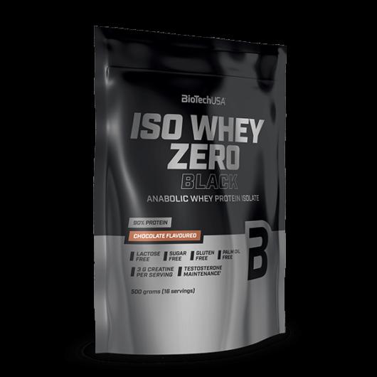 Iso Whey Zero Black tejsavófehérje-izolátum alapú italpor - 500 g vanilia