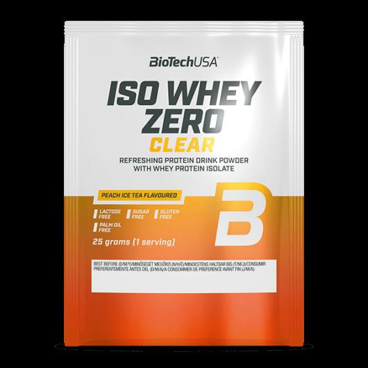 Iso Whey Zero Clear - 25 g barackos ice tea 10 db/csomag