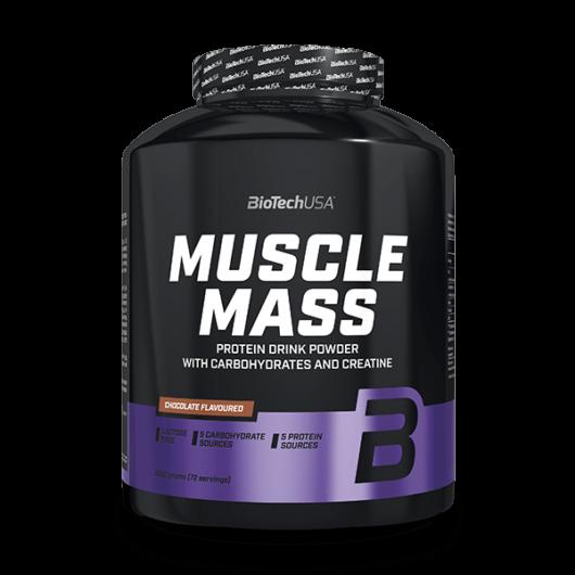 Muscle Mass szénhidrát- és fehérjetartalmú italpor - 4000 g vanilia