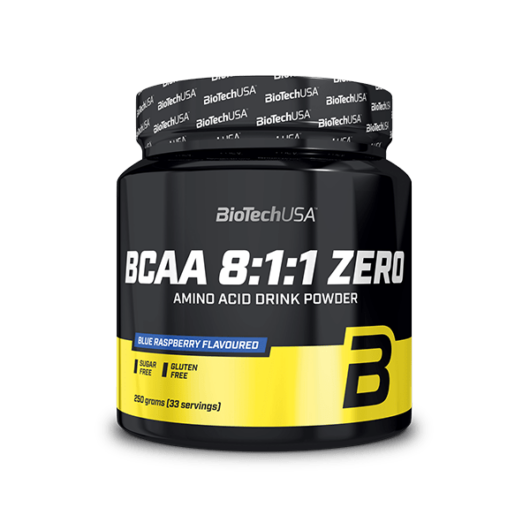 BCAA 8:1:1 ZERO - 250 g kékmálna