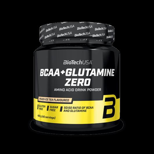 BCAA + Glutamine Zero 480 g barackos ice tea