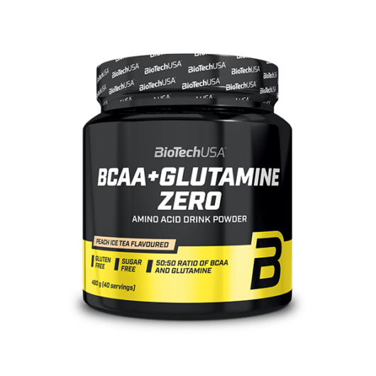 BCAA + Glutamine Zero 480 g narancs