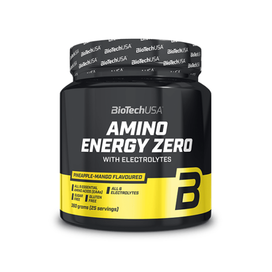 Amino Energy Zero with electrolytes - 360 g barackos ice tea
