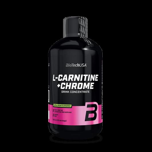L-Carnitine + Chrome - 500 ml narancs