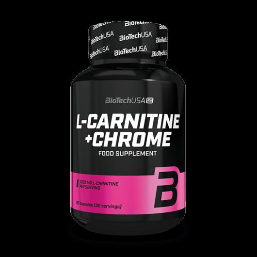 L-Carnitine + Chrome - 60 kapszula
