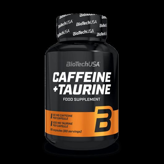 Caffeine + Taurine - 60 kapszula