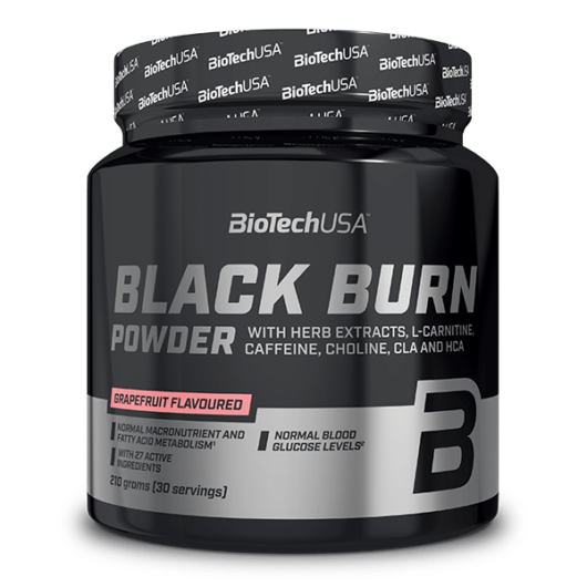 Black Burn italpor - 210 g grapefruit