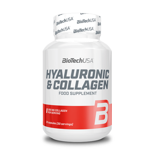 Hyaluronic & Collagen - 30 kapszula