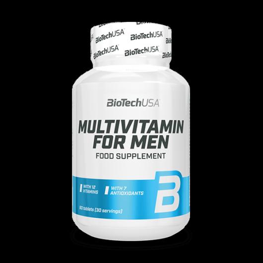 Multivitamin for Men étrend-kiegészítő – 60 db tabletta